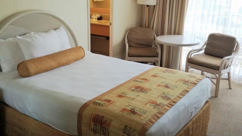 ハワイのホテルの部屋