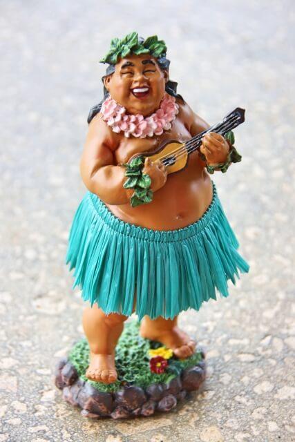 ハワイアン・フラダンス人形
