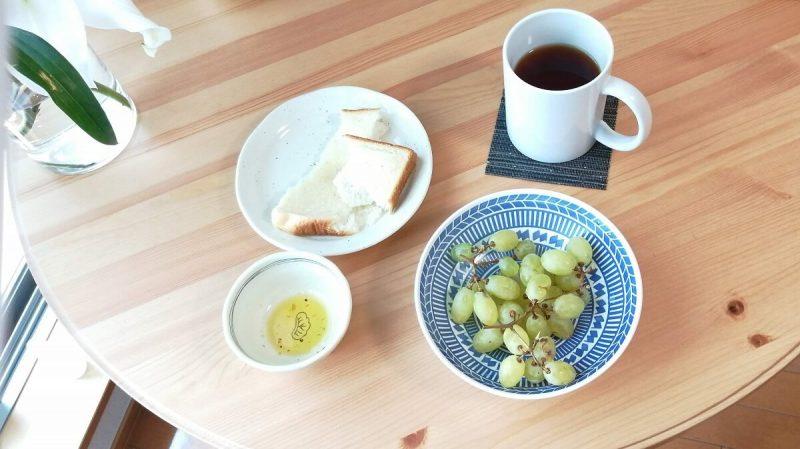 一人暮らしの朝食