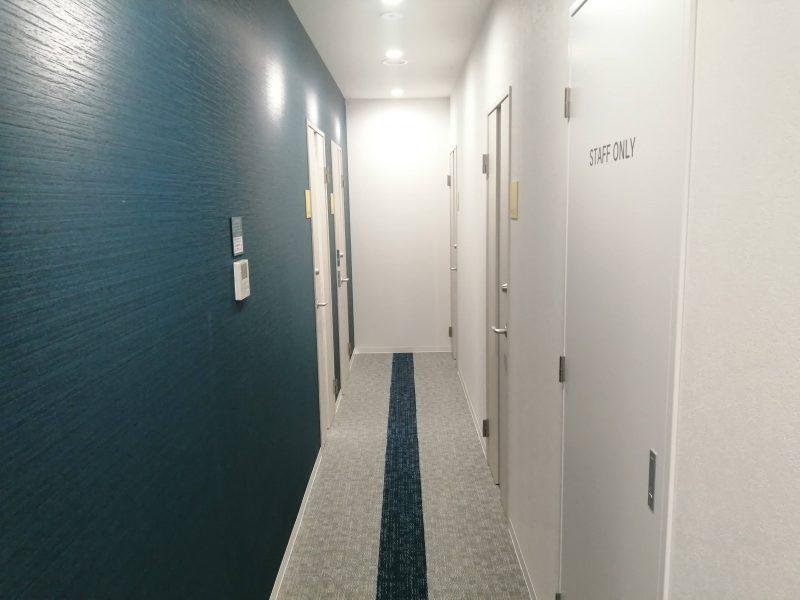 ビズコンフォート西日暮里は建物が新しくて清潔、換気もよくされている